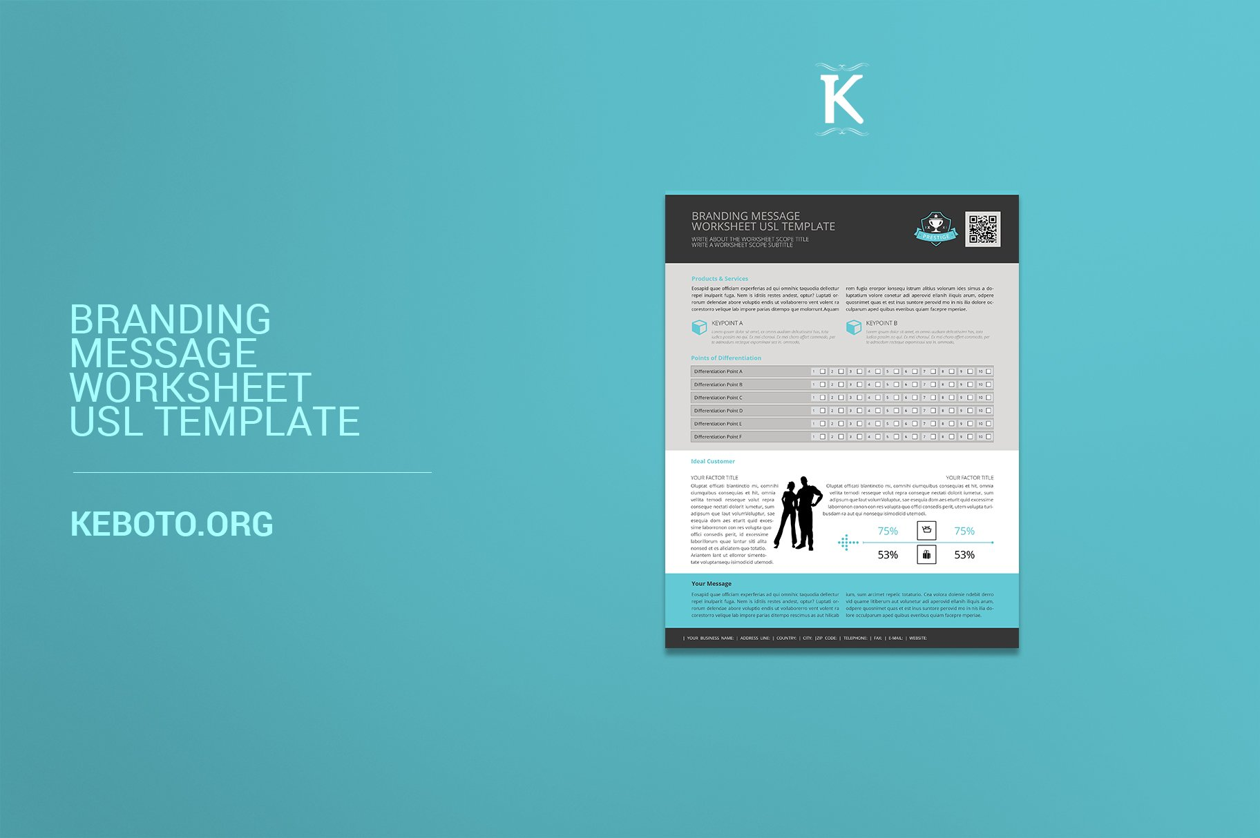 Branding Message Worksheet USL