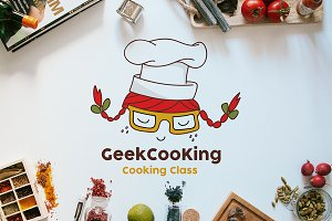 Cooking Geek Logo