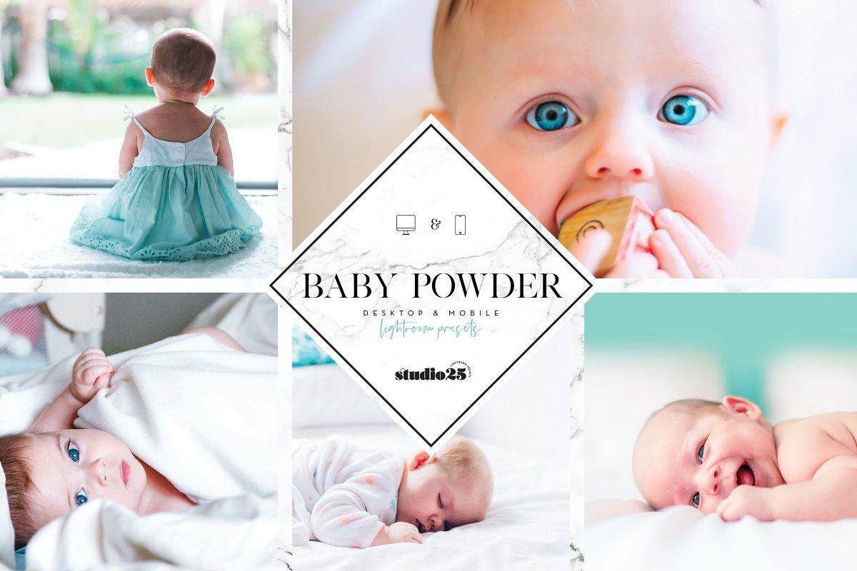 2185788e0e9d5 Baby and newborn lightroom preset ~ Lightroom Presets ~ Creative Market