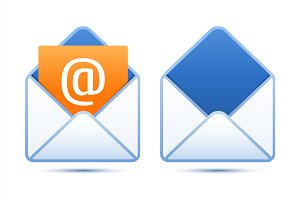 Pixel perfect email icons