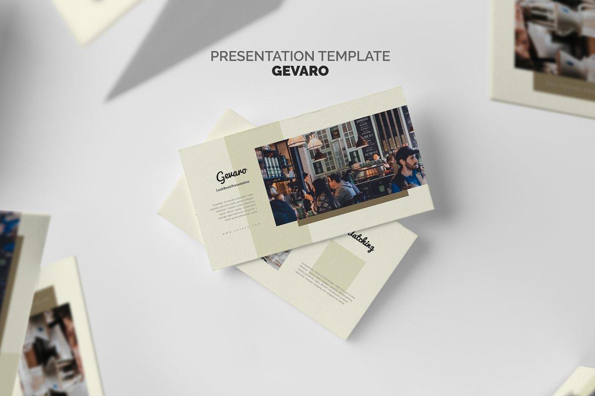 Gevaro : Coffee Shop Powerpoint