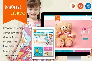 Baby Clothes- Magento Theme