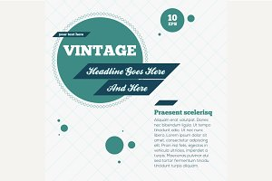 Abstract Vintage Background. Vector