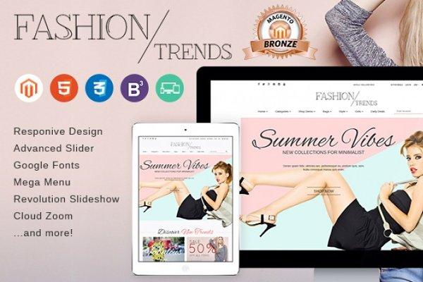 Magento Themes - EM FashionTrends - Magento Theme