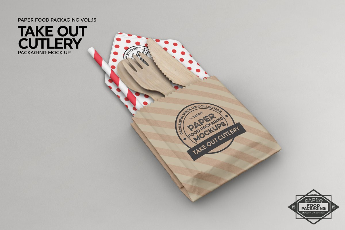 VOL.15 Food Box Packaging Mockups in Mockup Templates - product preview 1
