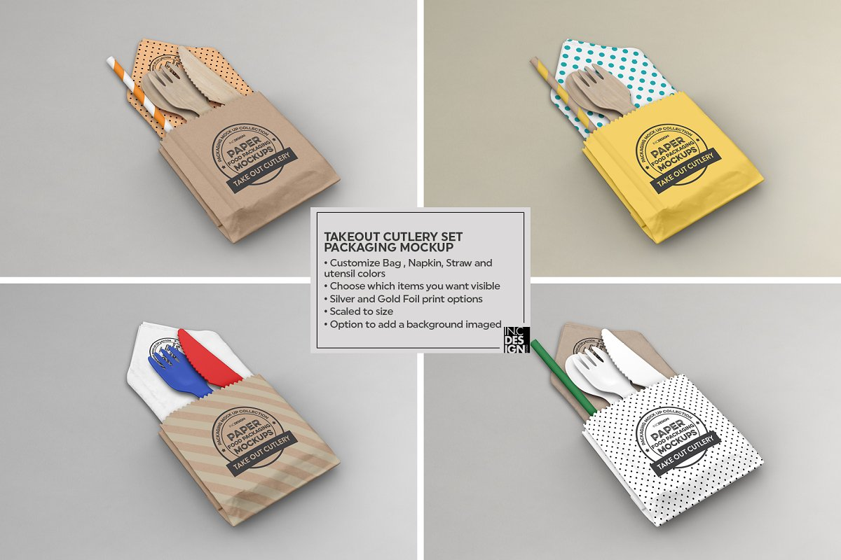 VOL.15 Food Box Packaging Mockups in Mockup Templates - product preview 2