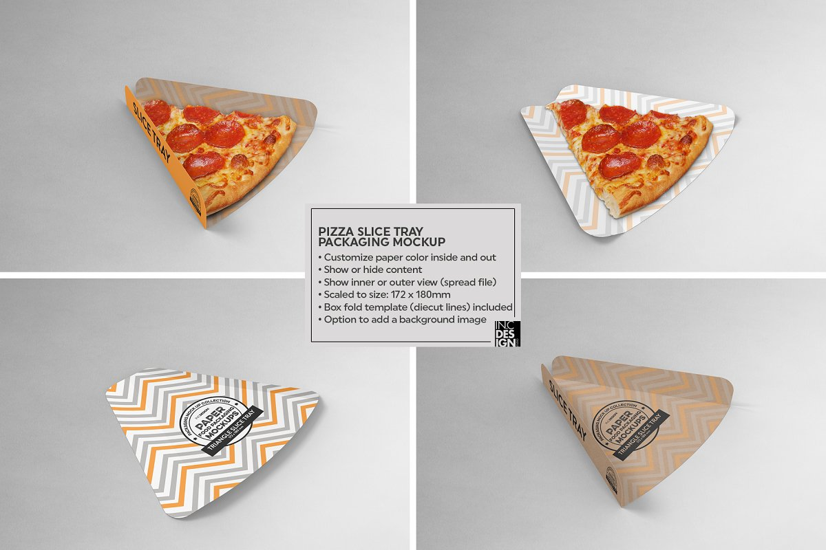 VOL.15 Food Box Packaging Mockups in Mockup Templates - product preview 6