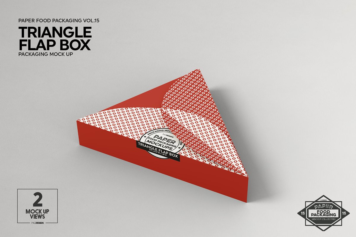 VOL.15 Food Box Packaging Mockups in Mockup Templates - product preview 10