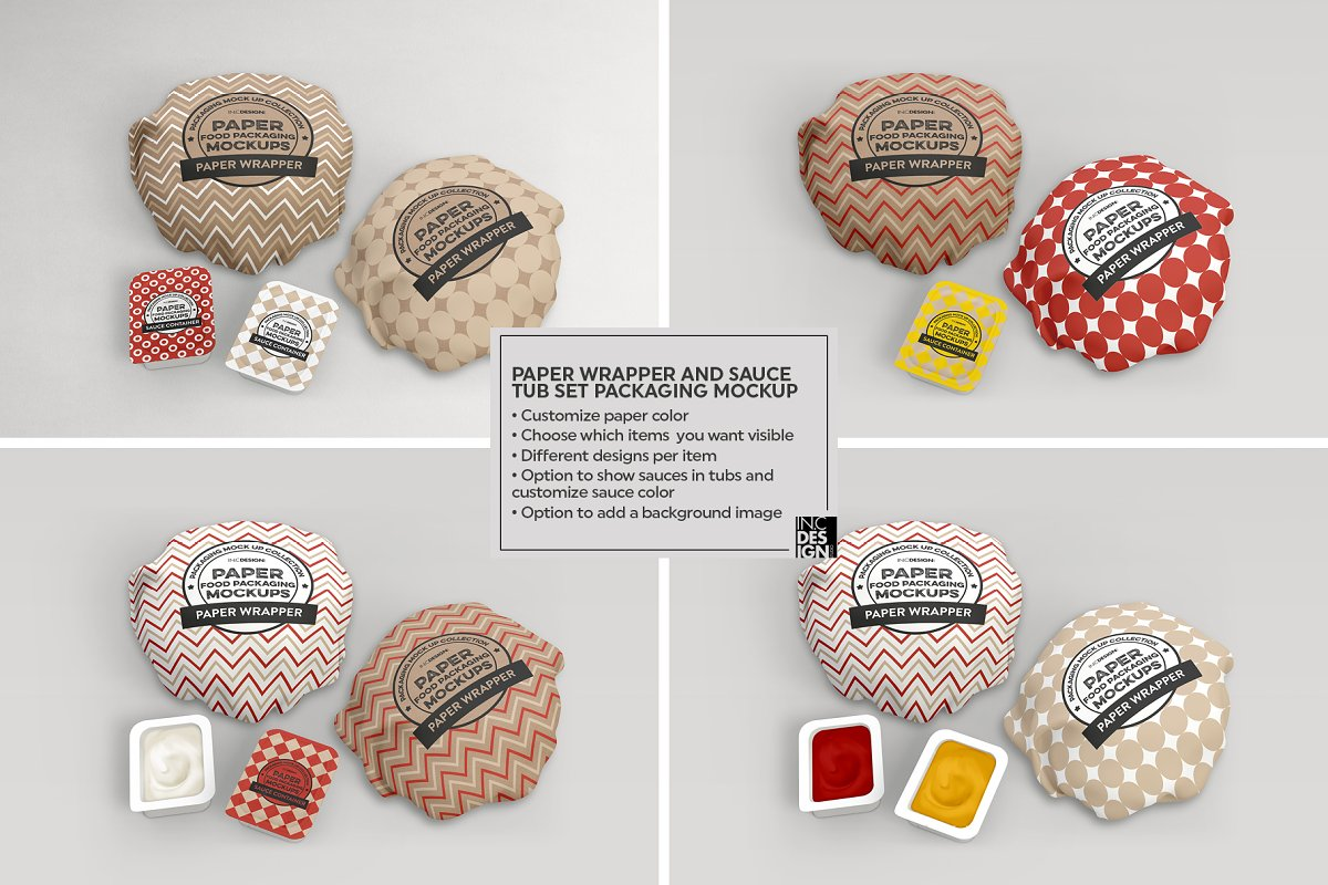 VOL.15 Food Box Packaging Mockups in Mockup Templates - product preview 15