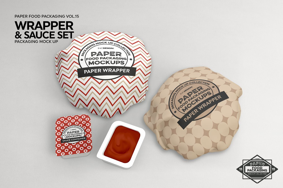 VOL.15 Food Box Packaging Mockups in Mockup Templates - product preview 14