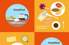 Continental and French Breakfasts