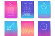 Hipster geometric shapes