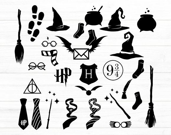 Harry Potter Quotes and illustration