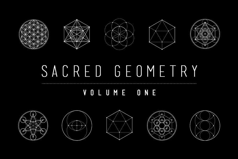 sacred geometry vector pack vol 1 illustrations creative market pro