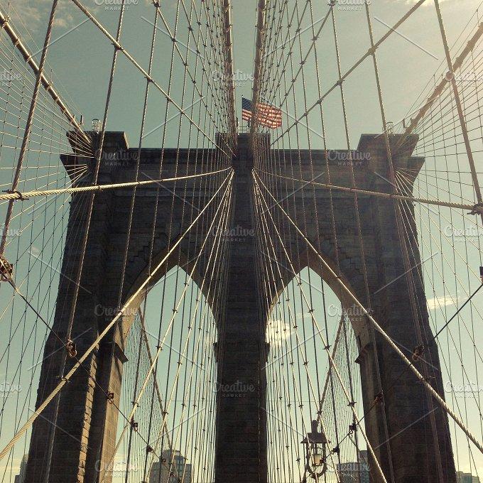 Brooklyn Bridge ~ Architecture Photos ~ Creative Market