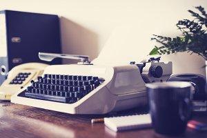 Retro style desk