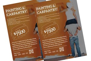 Pantting & Carpentry Flyer Template