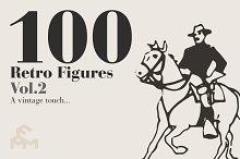 100 Retro Figures - Vol.2