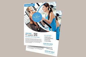 Fitness & Health Flyer Temp