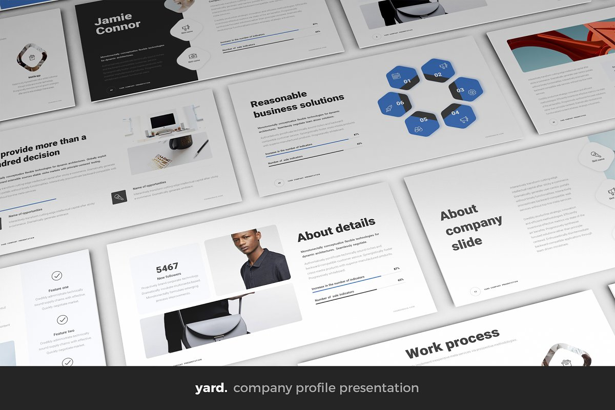 Corporate PowerPoint Template ~ PowerPoint Templates