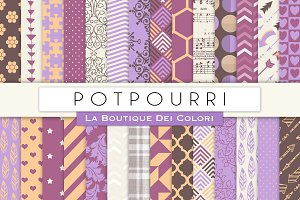 Potpourri Digital Papers