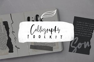 Calligraphy Toolkit 1 for Procreate
