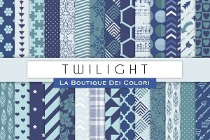 Twilight Digital Papers