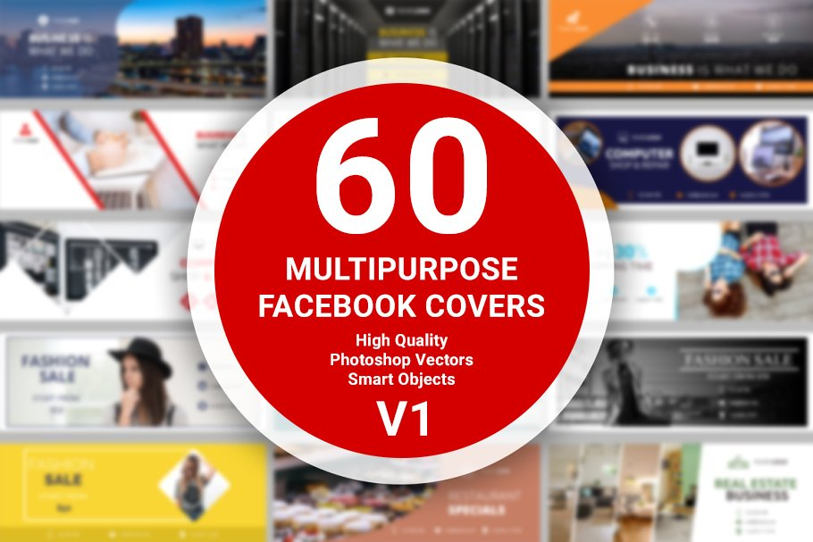 60 Facebook Covers - v1