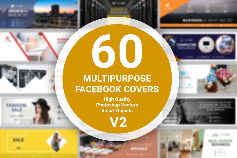 60 Facebook Covers - v2
