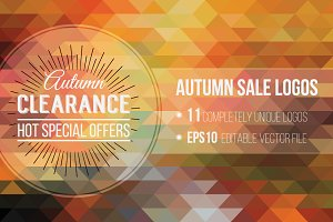 Autumn Sale Logos