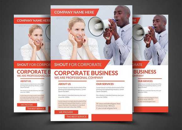 Creative Business Flyer Templates
