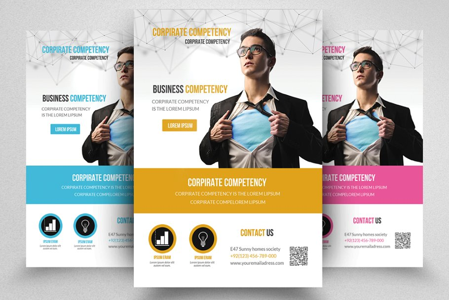 Business Flyer Template in Flyer Templates - product preview 8