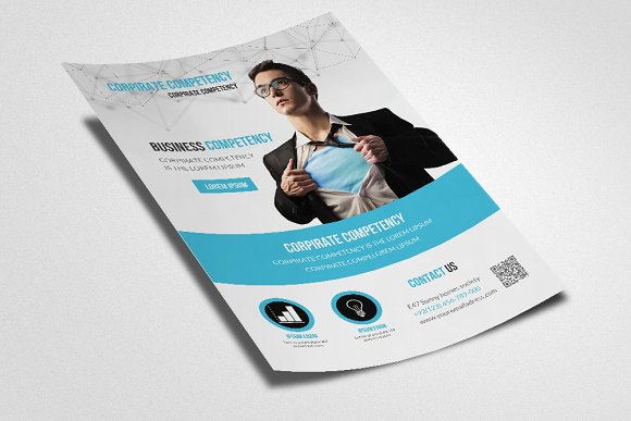 Business Flyer Template in Flyer Templates - product preview 2