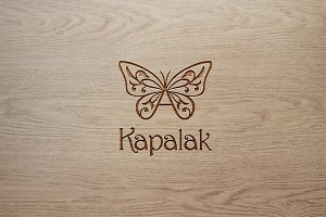 Creative Floral Butterfly logo