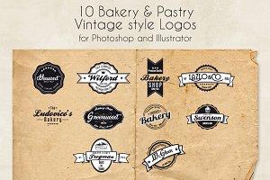 Bakery & Pastry Vintage logo