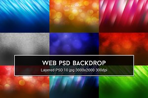 Web PSD Backdrop