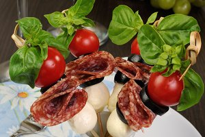 Appetizer of Salami