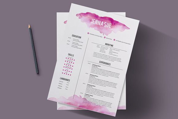creative resume template resumes - Creative Resumes