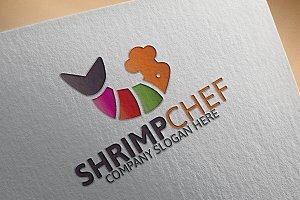 Shrimp Chef Logo