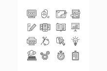 Design web development theme icon