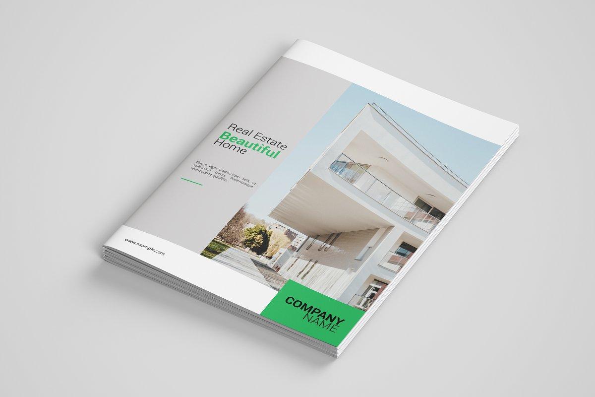 real estate brochure v2 brochure templates creative market.html