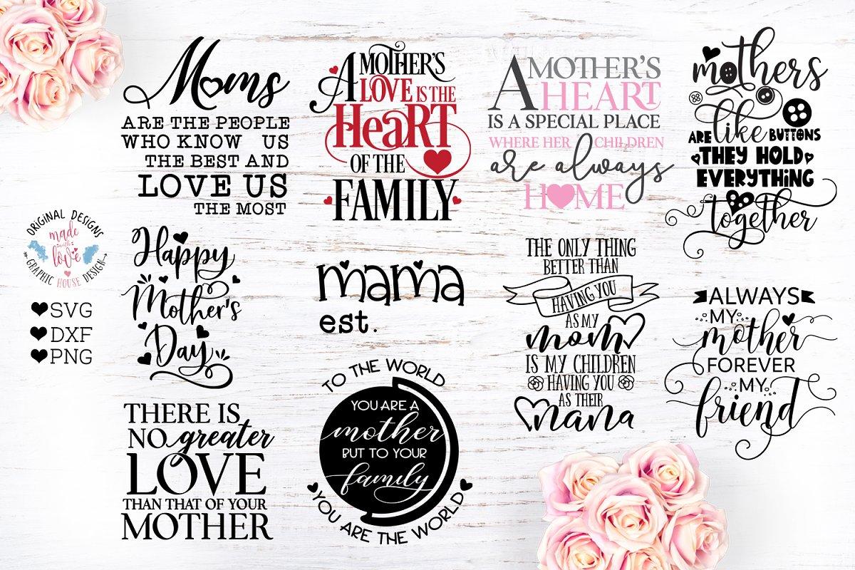 Mother Quotes Bundle ~ Illustrations ~ Creative Market