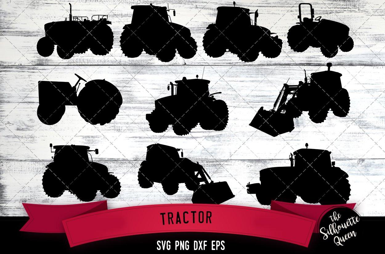Tractor Svg File Farm Svg Cut File Pre Designed Illustrator Graphics Creative Market