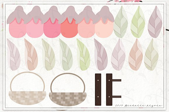 Cherry Blossoms 04 - Graphics Pack in Illustrations - product preview 5