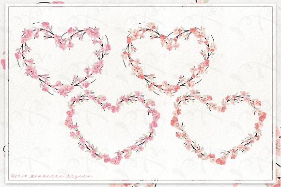 Cherry Blossoms 04 - Graphics Pack in Illustrations - product preview 10