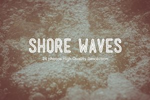 24 Shore Waves Photos HQ | V2