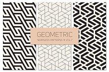 Geometric Seamless Patterns Set 7