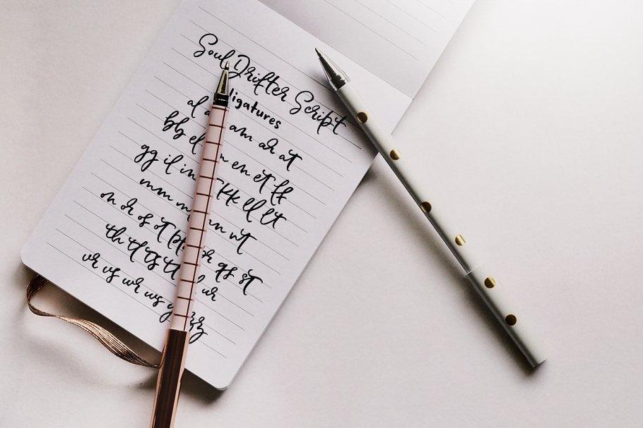 Soul Drifter handwritten font