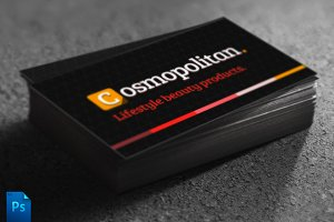 Cosmopolitan Business Card Template