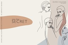 INTRO PRICE $10. One Line Secret by  in Objects